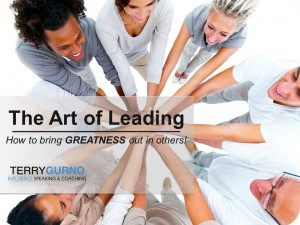 Art of Leading slide