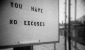 Monday Mindset: 2017 Going From Excuses to Results